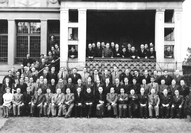 1949 Asamblea General Mitgliederversammlung Palmengarten Frankfurt am Main