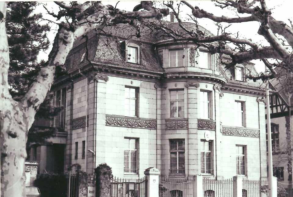 Haus Giersch Schaumainkai 83 Frankfurt